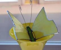 Schmetterling (gelb)