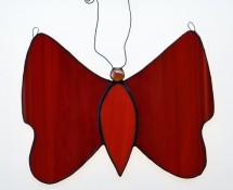 Schmetterling (rot)